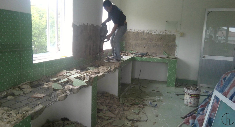 Sửa chữa nhà cũ dựa trên thiết kế cũ