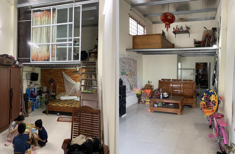 Mặt bằng cải tạo nhà cấp 4 tại Hà Đông