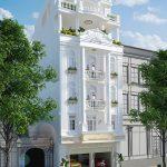 thiết kế kiến trúc nhà chị Hà Bắc Ninh