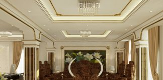 thiết kế phòng khách nhà chị Hà Bắc Ninh