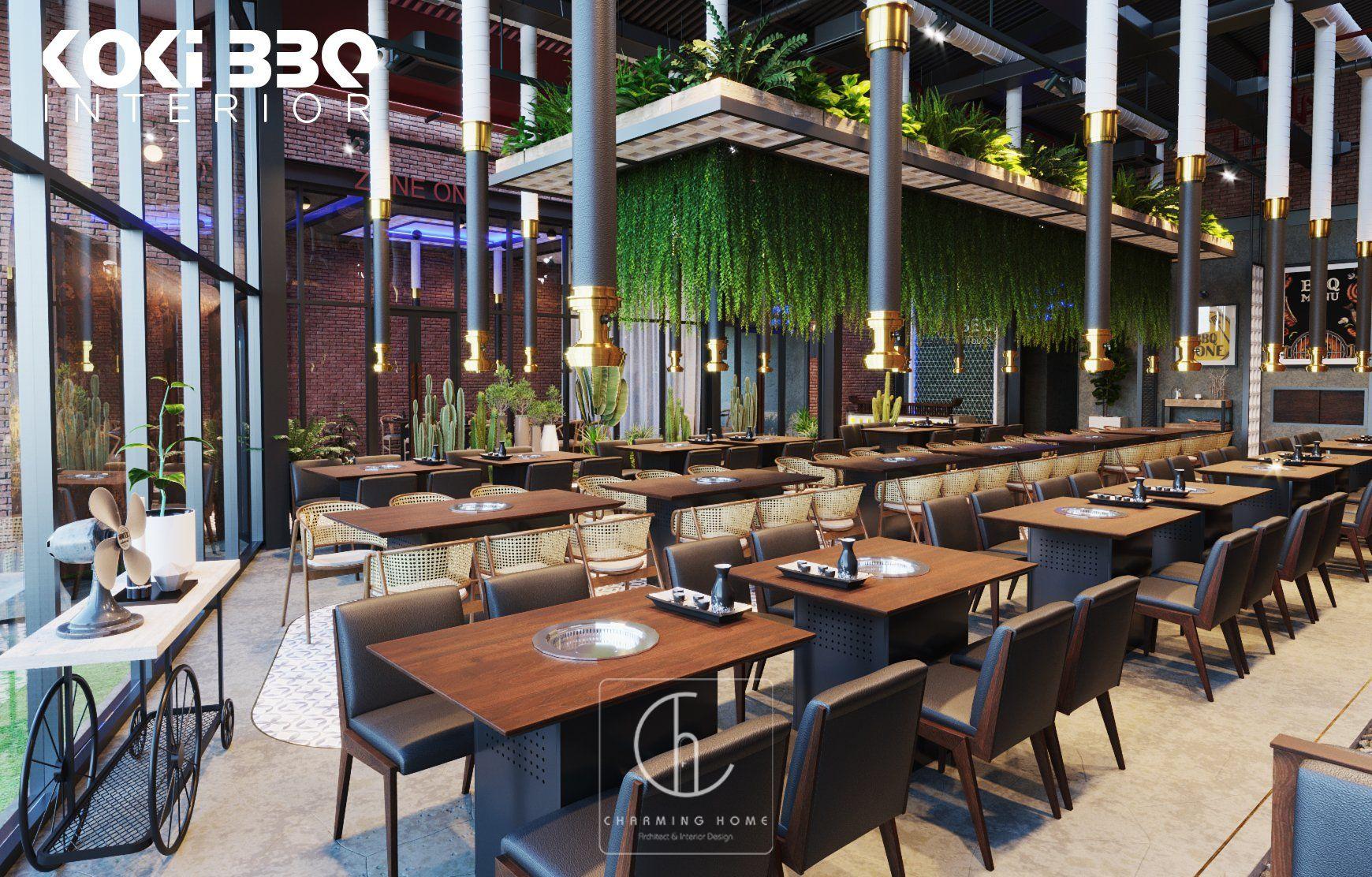 Thiết Kế Nhà Hàng BBQ - Quảng Bình