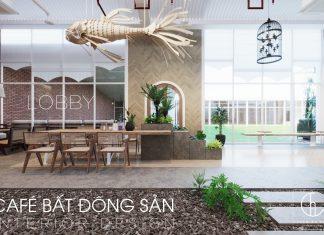 Thiết Kế Quán Cafe BĐS - Nội Thất