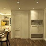 Cải tạo phòng khách căn hộ tập thể