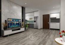 thiết kế nội thất chung cư K35 Tân Mai