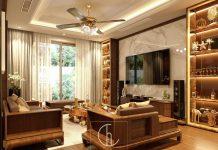 Thiết kế phòng khách tại Hải Dương